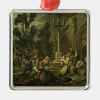 Chouans in the Vendee Christmas Ornament