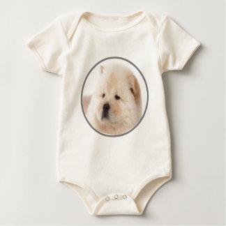 """""""Chow Chow 2"""" Baby Bodysuit"""