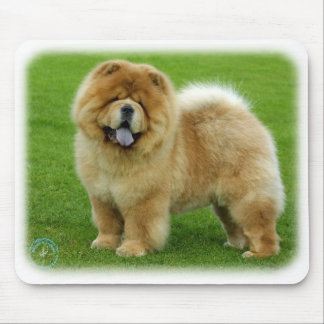 Chow Chow 9B008D-06 Mouse Pads