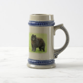 Chow Chow 9B008D-25 Beer Stein