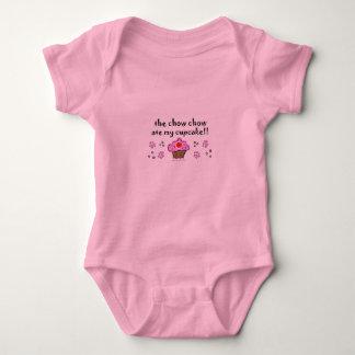 chow chow baby bodysuit