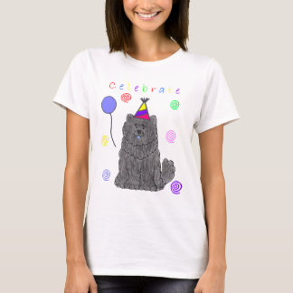 Chow Chow Black Celebrate T-Shirt