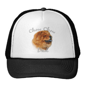Chow Chow Dad 2 Mesh Hats