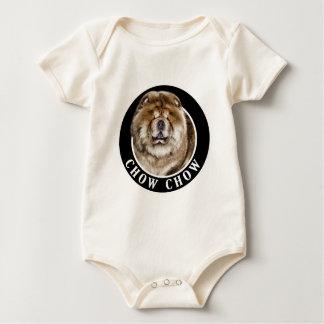 Chow Chow Dog 002 Baby Bodysuit