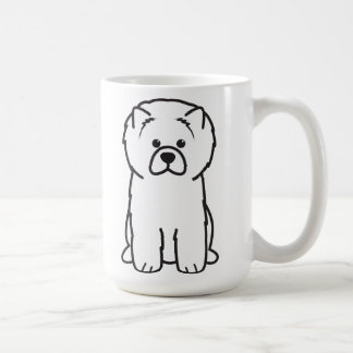 Chow Chow Dog Cartoon Coffee Mug