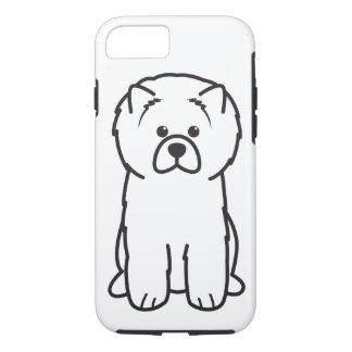 Chow Chow Dog Cartoon iPhone 7 Case