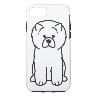 Chow Chow Dog Cartoon iPhone 7 Case