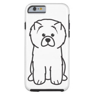 Chow Chow Dog Cartoon Tough iPhone 6 Case