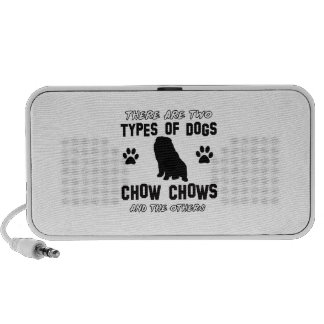 chow chow dog designs portable speaker