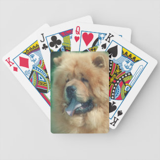 Chow Chow Dog Playing Cards