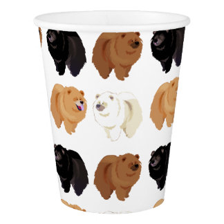chow chow paper cup