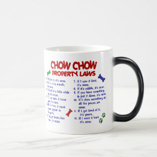 CHOW CHOW Property Laws Magic Mug