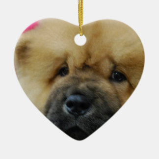 Chow Chow Puppy Christmas Ornament