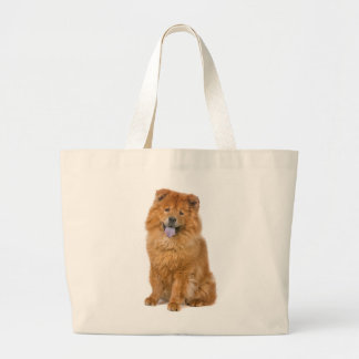 Chow Chow Puppy Dog Love Canvas  Totebag Jumbo Tote Bag