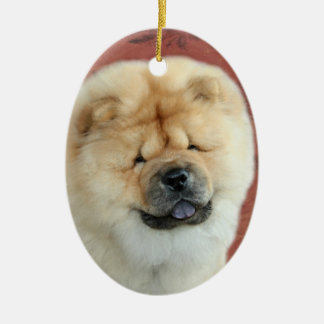 Chow Chow Puppy Holiday Christmas Ornament