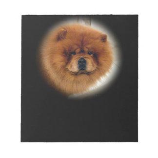 Chow Dog Design Notepad