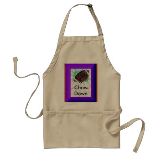 &Chow Down Adult Apron