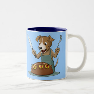 Chow Hound Two-Tone Mug