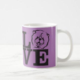 CHOW LOVE COFFEE MUG