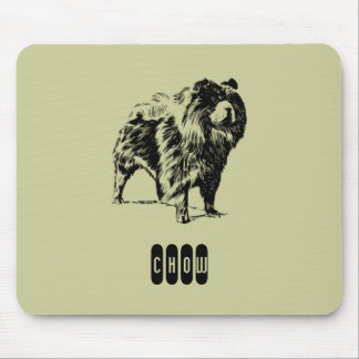Chow Mouse Pad