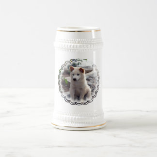 Chow Puppies Beer Stein