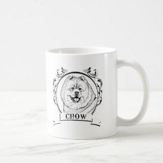 Chow T-shirt Mugs