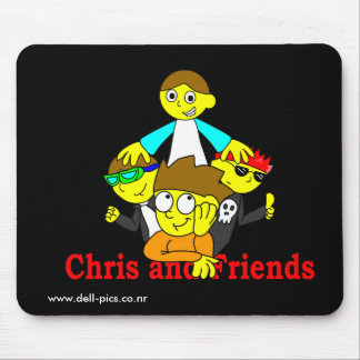 Chris and Friends Mousepad