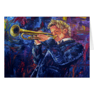 """Chris Botti"" (Blank Card) Greeting Card"