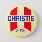 Chris Christie 2016 7.5 Cm Round Badge