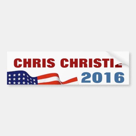 Chris Christie 2016 Bumper Sticker