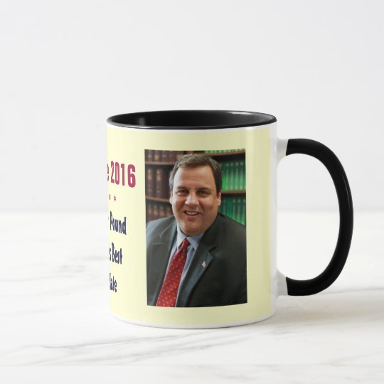 Chris Christie 2016 Mug