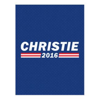 Chris Christie, Christie 2016 Postcard