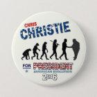 Chris Christie for President 2016 7.5 Cm Round Badge