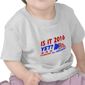 Chris Christie for President designs Tee Shirts