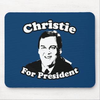 CHRIS CHRISTIE FOR PRESIDENT MOUSEPADS
