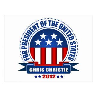 Chris Christie Postcard