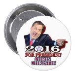 Chris Christie Republican for President 7.5 Cm Round Badge