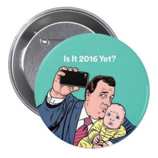 Chris Christie Selfie 7.5 Cm Round Badge