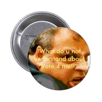Chris Christie - Who u lookin' at?! 6 Cm Round Badge