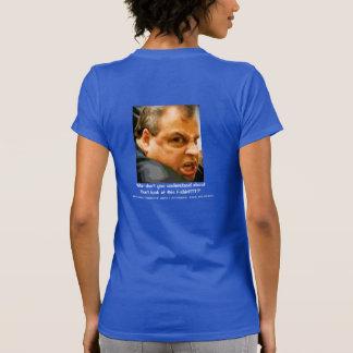 Chris Christie - Who u lookin' at?! Tee Shirt