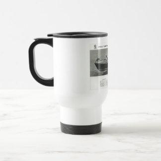 Chris Craft Coffee Travel Mug Cup with Lid