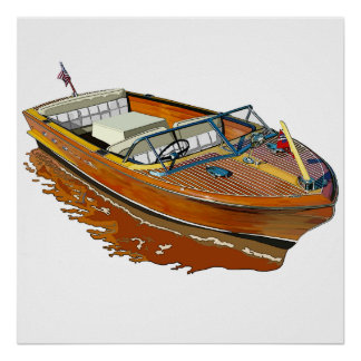 Chris Craft Continental Poster