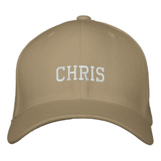 Chris Embroidered Hat