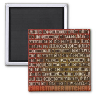 Chris Hitchens Surrender of Reason (Reds) Magnet