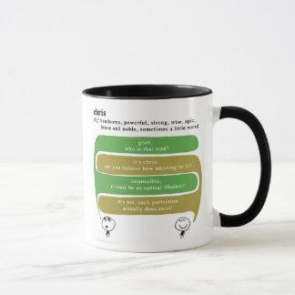chris mug