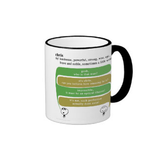 chris ringer coffee mug