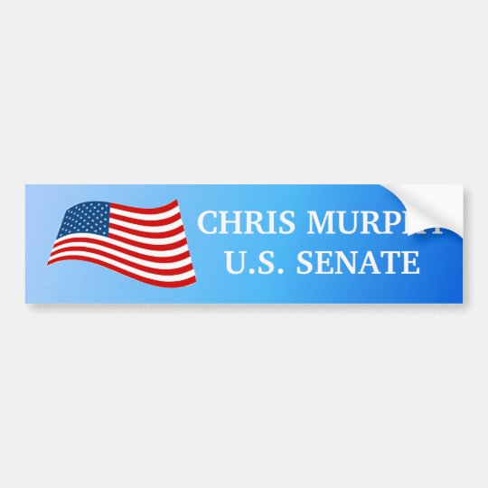 Chris Murphy  for Senate Bumper Sticker
