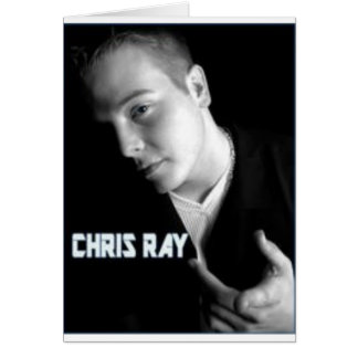 chris ray products greeting card