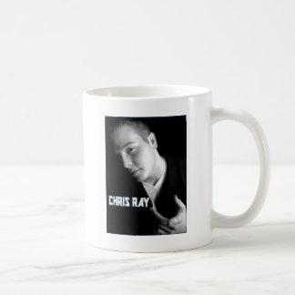 chris ray products basic white mug