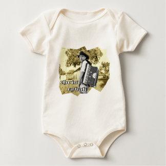 Chris Rybak - Kloesel Logo - Sephia Baby Bodysuit